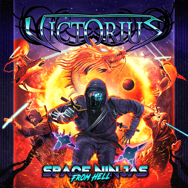 Victorius - Space ninja from hell