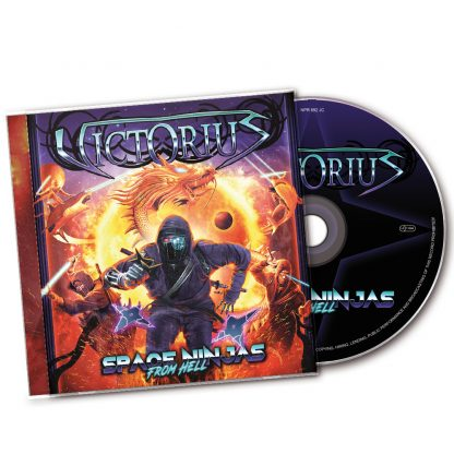 CD Victorius Space Ninjas from Hell